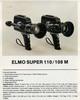 Thumbnail ELMO SUPER 110 SUPER 8 CAMERA MANUAL