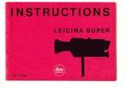 Thumbnail LEICINA SUPER CAMERA MANUAL