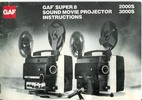 Thumbnail GAF 2000S & 3000S Super 8 Sound Projector