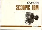 Thumbnail Canon Scoopic 16M 16mm Camera Manual