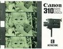 Thumbnail Canon 310XL Super 8 Movie Camera Manual