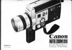 Thumbnail Canon Autozoom 814 E Super 8 Movie Camera Manual