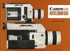 Thumbnail Canon Autozoom 814 Super 8 Movie Camera Manual