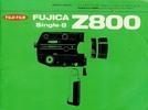 Thumbnail Fujica Z800 Single 8 Camera Manual