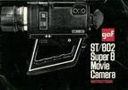 Thumbnail GAF ST 802 SUPER 8 CAMERA MANUAL