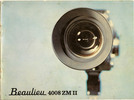 Thumbnail Beaulieu 4008 ZM 2 Super 8 Camera Manual