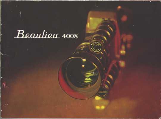 Pay for BEAULIEU 4008 ZM SUPER 8 CAMERA MANUAL