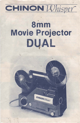 Pay for CHINON WHISPER DUAL 8MM MOVIE PROJECTOR
