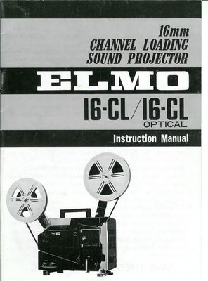 Free ELMO 16 CL 16MM PROJECTOR MANUAL Download thumbnail
