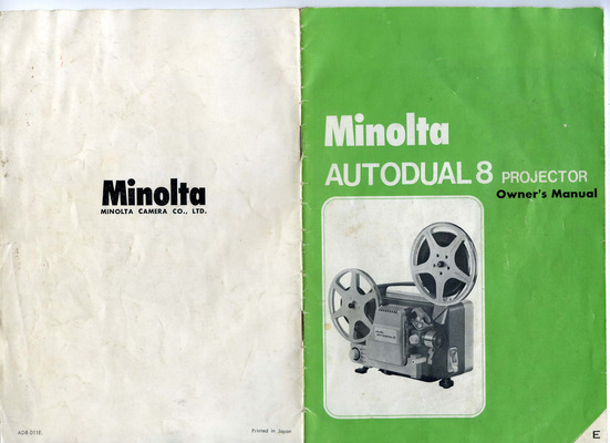 Pay for MINOLTA AUTODUAL8 PROJECTOR