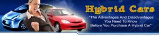 Thumbnail Hybrid Cars Website + PLR Lizenz