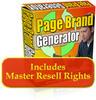 Thumbnail Page Brand Generator