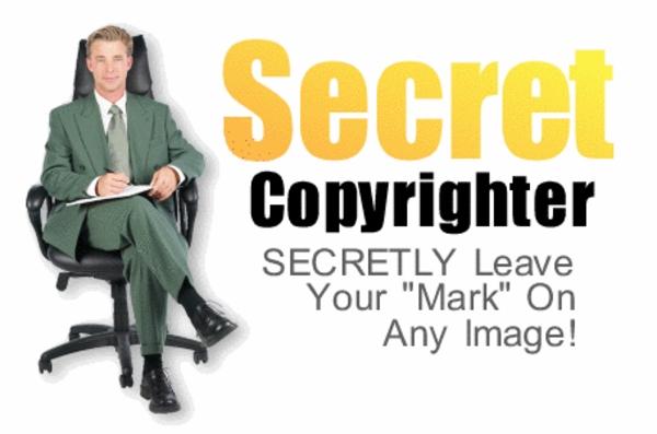 Pay for Secret Copyrighter - Secretly Insert Mark on Any Image, etc