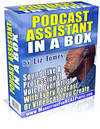 Thumbnail Podcast Assistant in a Box by Liz Tomey w/ Master Resell Rights