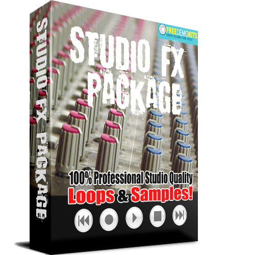Pay for Studio Effects Package Sound FX SFX Wavs Samples and Loops
