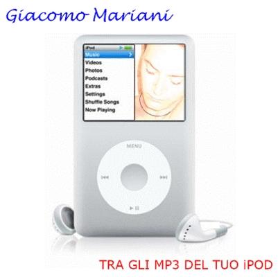 Pay for GIACOMO MARIANI 04 TRA GLI MP3 DEL TUO iPOD