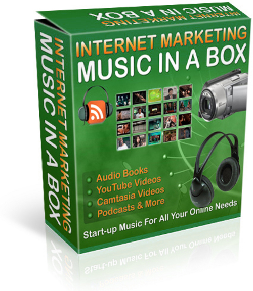 Pay for Professional Marketing Music w/ Resell Marketing Kit
