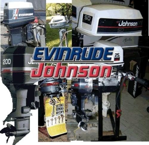 Johnson Evinrude Outboard Repair Manual 1958 thru 2001