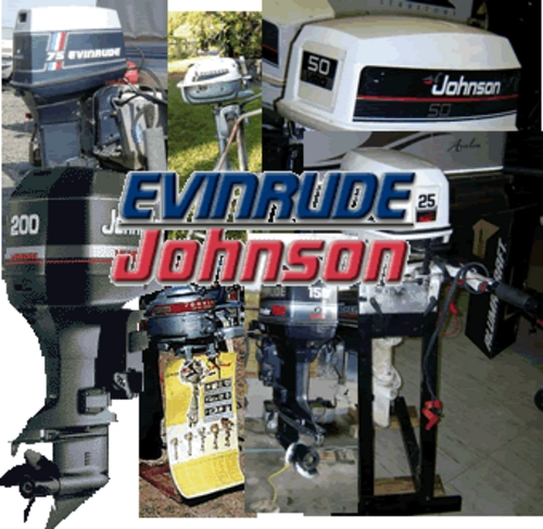 Used Small Boat Engines For Sale: Evinrude Johnson Outboard Repair Manual Set