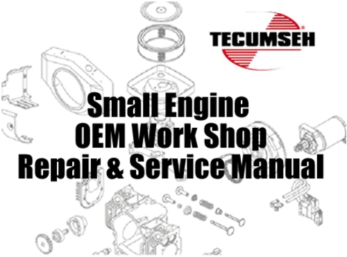 tecumseh small engine master service repair manual set download rh tradebit com Tractor Service Manuals Tractor Service Manuals