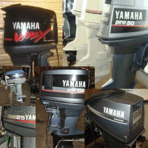 Yamaha outboard 2hp 250hp shop repair manual model years for Boat motor repair shops