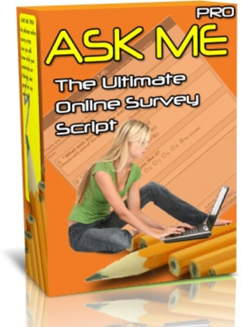 Pay for AskMePro Survey Script w/MRR