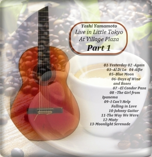 Pay for Guitar Music by Cafe Ginza-USA Solo Guitar Standards Part 1