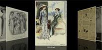 Thumbnail 1910s Costume Fashion Vintage Art Posters
