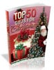 Thumbnail Top 50 Gifts For Christmas Ebook