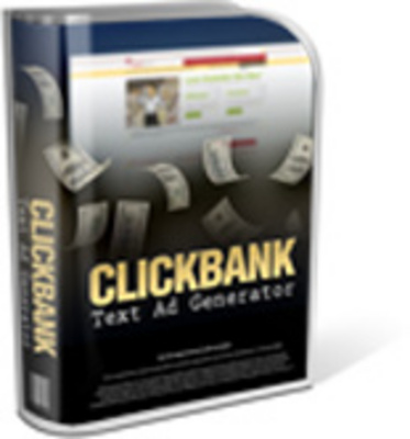Pay for Click Bank Text Ads Generator Version 2.0