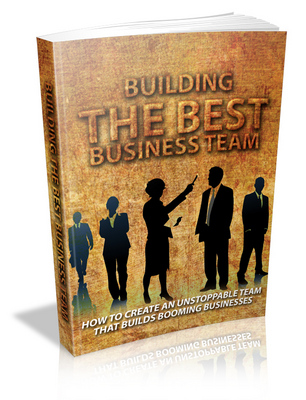 Pay for Building The Best Business Team Ebook
