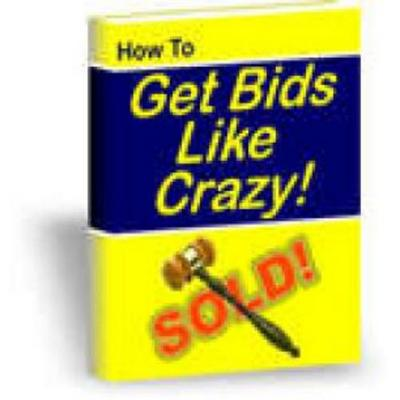 How To Get Bids Like Crazy With Master Resale Rights