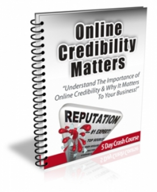 Pay for Online Credibility Matters With PLR & Readymade Site