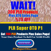 Thumbnail 200 PLR Super OTO P1 - Private Label Rights License