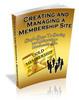 Thumbnail Creating and Managing A Membership Website (MRR)