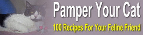 Thumbnail Pamper Your Cat: 100 tempting and tasty treats for cats MRR