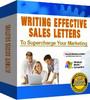 Thumbnail Writing Effective Sales Letters: Sales Letter Technique -MRR