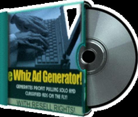 Pay for eWhiz Ad Creator V. 1 (MRR)