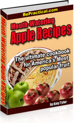 Pay for Mouth-Watering Apple Recipes (MRR)