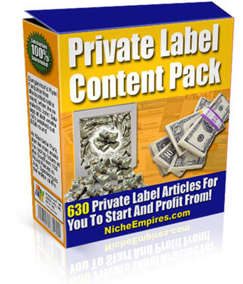 Pay for Private Label Content Pack (MRR)