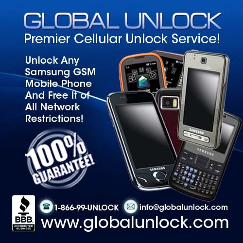 Pay for Any GSM Samsung Unlock Instructions