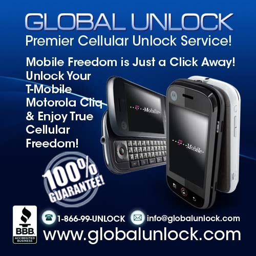 Pay for Learn How To Unlock T Mobile USA Motorola Cliq