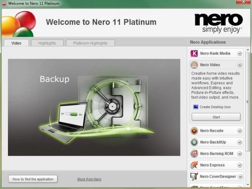 Pay for Nero 11 Platinum