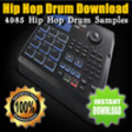 Thumbnail Hip Hop Drum Download - 4985 Hip Hop Drum Samples
