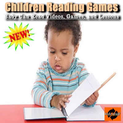 Pay for Children Reading Games - Baby Can Read Videos and Lessons