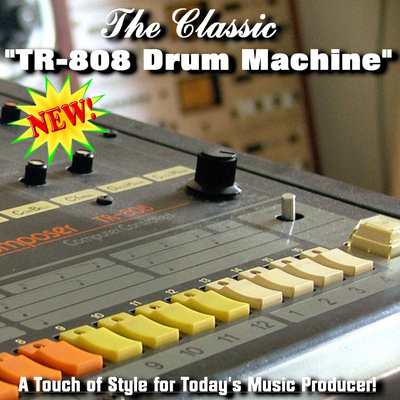 Pay for 808 Drum Machine - Downloadable Drum Machines