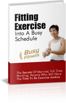 Pay for Weight Loss Exercise - Fitting Exercise Into a Busy Schedule
