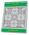 Thumbnail Vintage Filet Flower Square Crochet Pattern Ebook