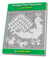 Thumbnail Vintage Filet Peacock Family Crochet Pattern Ebook