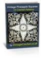 Thumbnail Vintage Pineapple Squares Crochet Patterns eBook Volume 1